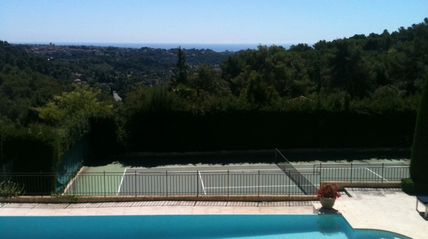 04 Lou Venta St Paul de Vence pool view