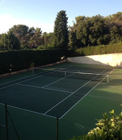 04 St Paul de Vence Lou Vento tennis court