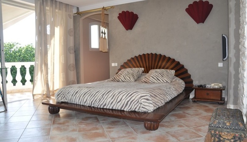 11 luxury holiday home la colle sur loup master bedroom